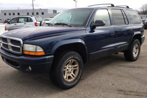 2002 Dodge Durango for sale at WEINLE MOTORSPORTS in Cleves OH