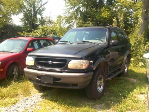 1998 Ford Explorer for sale at WEINLE MOTORSPORTS in Cleves OH