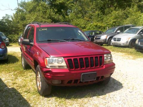 2002 Jeep Grand Cherokee for sale at WEINLE MOTORSPORTS in Cleves OH