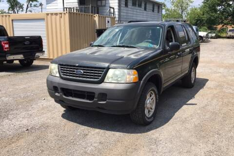 2003 Ford Explorer for sale at WEINLE MOTORSPORTS in Cleves OH