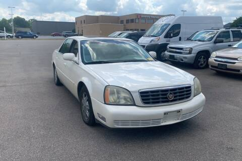 2003 Cadillac DeVille for sale at WEINLE MOTORSPORTS in Cleves OH