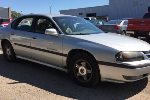 2001 Chevrolet Impala for sale at WEINLE MOTORSPORTS in Cleves OH