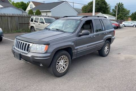 2004 Jeep Grand Cherokee for sale at WEINLE MOTORSPORTS in Cleves OH