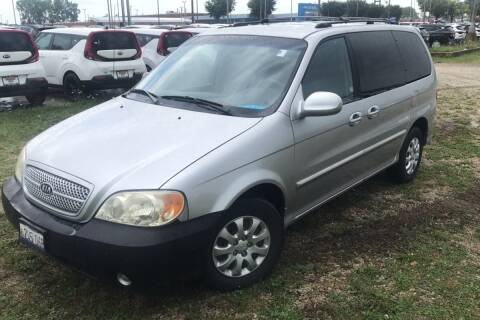 2004 Kia Sedona for sale at WEINLE MOTORSPORTS in Cleves OH