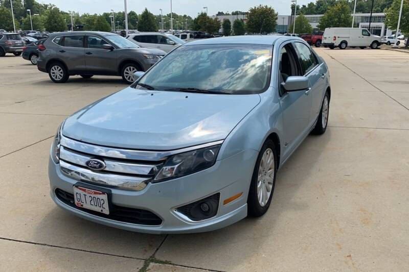 2010 Ford Fusion Hybrid for sale at WEINLE MOTORSPORTS in Cleves OH