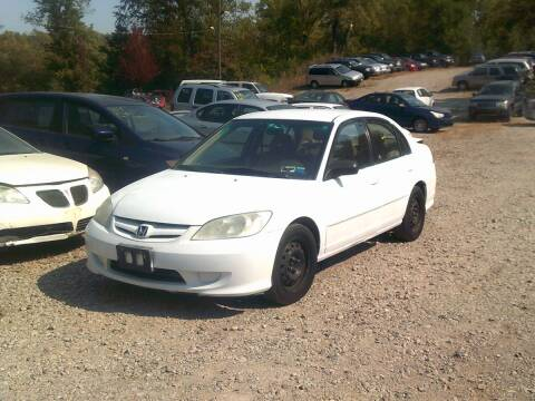 2004 Honda Civic for sale at WEINLE MOTORSPORTS in Cleves OH
