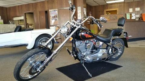1990 Harley-Davidson Softtail for sale at KUDICK AUTOMOTIVE in Coleman WI
