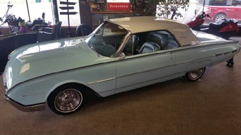 1962 Ford Thunderbird for sale at KUDICK AUTOMOTIVE in Coleman WI