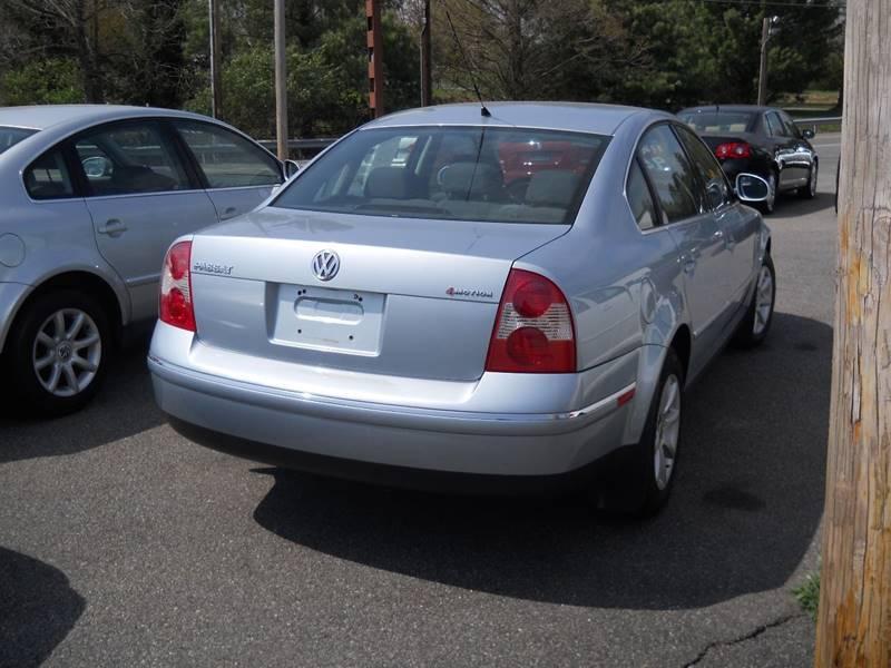 2004 Volkswagen Passat AWD 4dr GLS 1.8T Turbo 4Motion Sedan - Mohnton PA