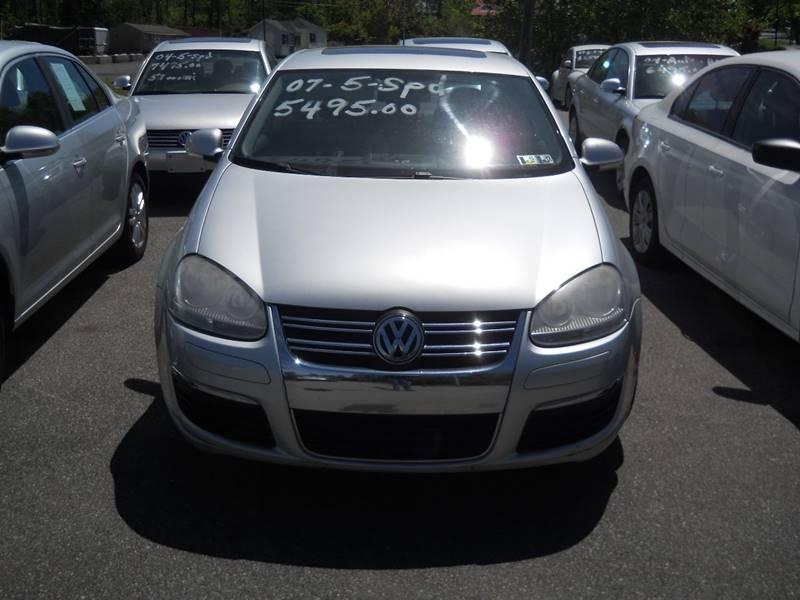 2007 Volkswagen Jetta Wolfsburg Edition 4dr Sedan (2.5L I5 5M) - Mohnton PA