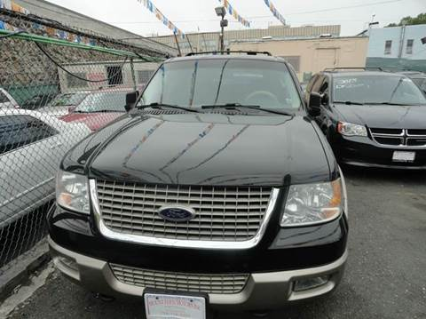 2003 Ford Expedition for sale at MOUNT EDEN MOTORS INC in Bronx NY