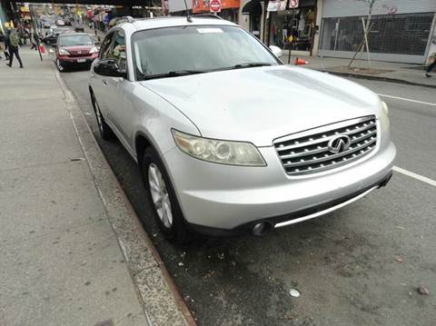 2006 Infiniti FX35 for sale at MOUNT EDEN MOTORS INC in Bronx NY