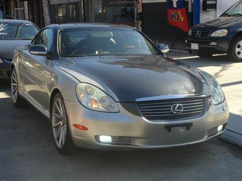 2002 Lexus SC 430 for sale at MOUNT EDEN MOTORS INC in Bronx NY