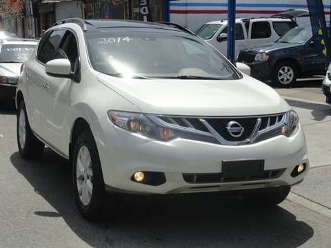 2014 Nissan Murano for sale at MOUNT EDEN MOTORS INC in Bronx NY
