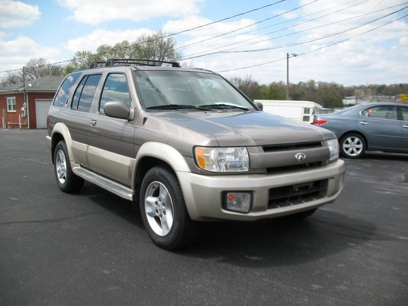 2003 Infiniti Qx4 Rwd 4dr Suv In Knoxville Tn Hilltop Car Sales