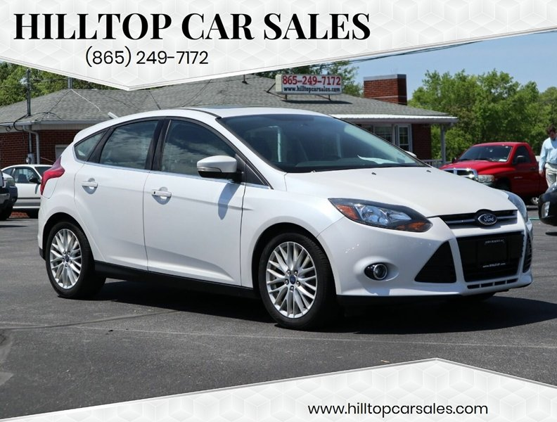 Cars For Sale Knoxville Tn >> 2014 Ford Focus Titanium 4dr Hatchback In Knoxville Tn Hilltop Car