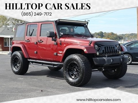 2009 Jeep Wrangler Unlimited for sale in Knoxville, TN