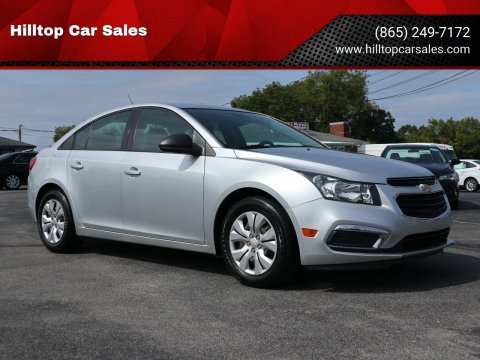 2016 Chevrolet Cruze Limited for sale at Hilltop Car Sales in Knox TN