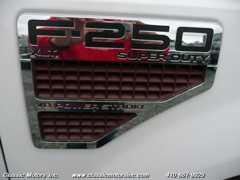 2010 Ford F-250 Super Duty CrewCab  XLT 4X4 - Finksburg MD