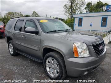 2007 GMC Yukon for sale in Finksburg, MD
