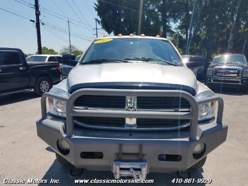 2007 Dodge Ram Pickup 3500 QuadCab SLT 4X4 DRW - Finksburg MD