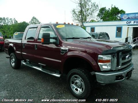 2008 Ford F-350 Super Duty for sale in Finksburg, MD