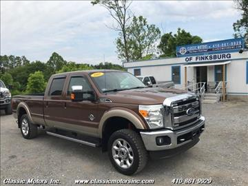 2011 Ford F-350 Super Duty for sale in Finksburg, MD