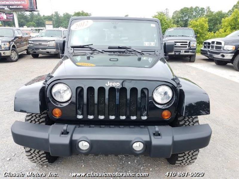2012 Jeep Wrangler Unlimited Unlimited Rubicon - Finksburg MD
