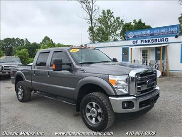 2014 Ford F-250 Super Duty for sale in Finksburg, MD