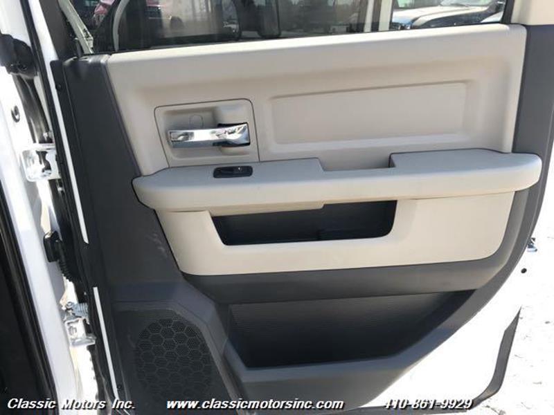 2012 RAM Ram Pickup 3500 Quad Cab SLT 4X4 DRW - Finksburg MD