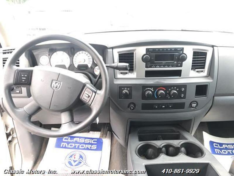 2008 Dodge Ram Pickup 2500 Quad Cab  SLT 4X4 - Finksburg MD