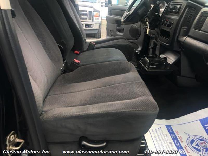2003 Dodge Ram Pickup 3500 Quad Cab  SLT 4X4 - Finksburg MD