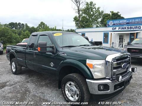2012 Ford F-250 Super Duty for sale in Finksburg, MD