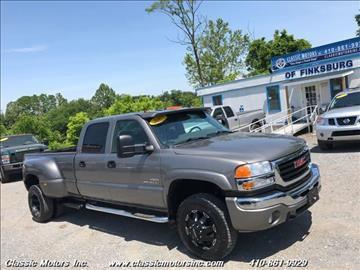 2007 GMC Sierra 3500 Classic for sale in Finksburg, MD