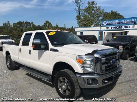 2011 Ford F-250 Super Duty for sale in Finksburg, MD