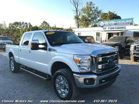 2015 Ford F-250 Super Duty for sale in Finksburg, MD
