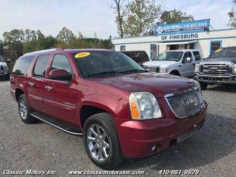 2007 GMC Yukon XL for sale in Finksburg, MD
