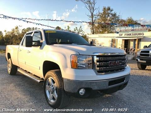 2013 GMC Sierra 2500HD for sale in Finksburg, MD