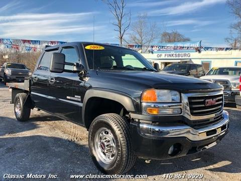 2007 GMC Sierra 2500HD Classic for sale in Finksburg, MD