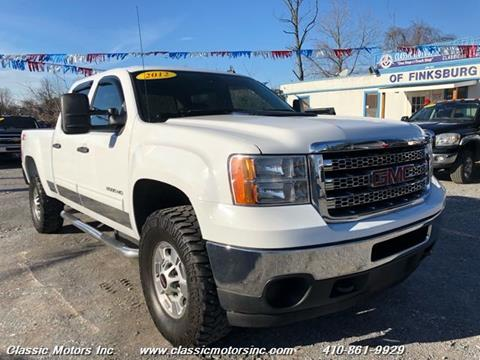 2012 GMC Sierra 2500HD for sale in Finksburg, MD