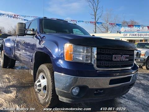 2013 GMC Sierra 3500HD for sale in Finksburg, MD