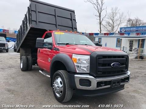 2012 Ford F-550 Super Duty for sale in Finksburg, MD