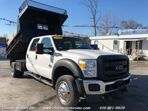 2013 Ford F-550 Super Duty for sale in Finksburg, MD