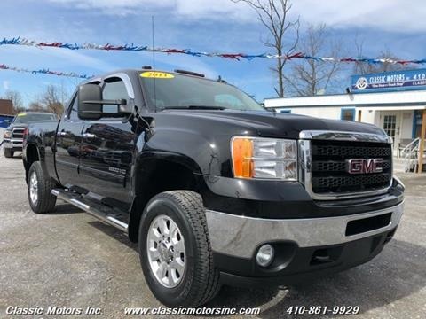 2011 GMC Sierra 2500HD for sale in Finksburg, MD