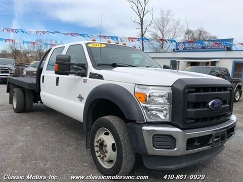 2014 Ford F-550 Super Duty for sale in Finksburg, MD