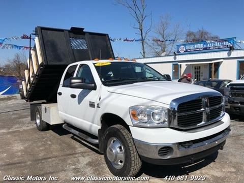 2007 Dodge Ram Chassis 3500 for sale in Finksburg, MD