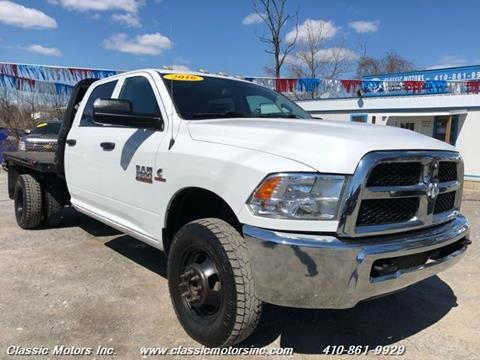 2016 RAM Ram Chassis 3500 for sale in Finksburg, MD
