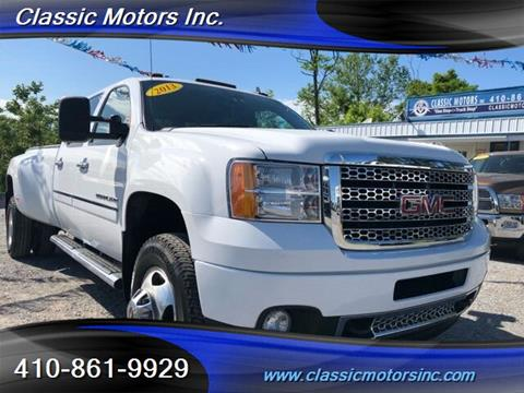 2013 GMC Sierra 3500HD for sale in Finksburg, MD