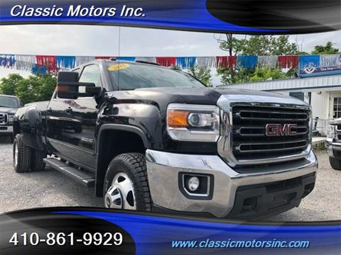 2015 GMC Sierra 3500HD for sale in Finksburg, MD