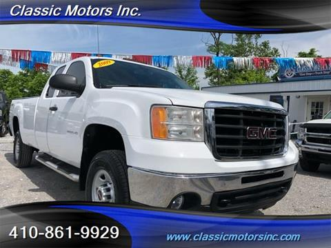 2009 GMC Sierra 2500HD for sale in Finksburg, MD